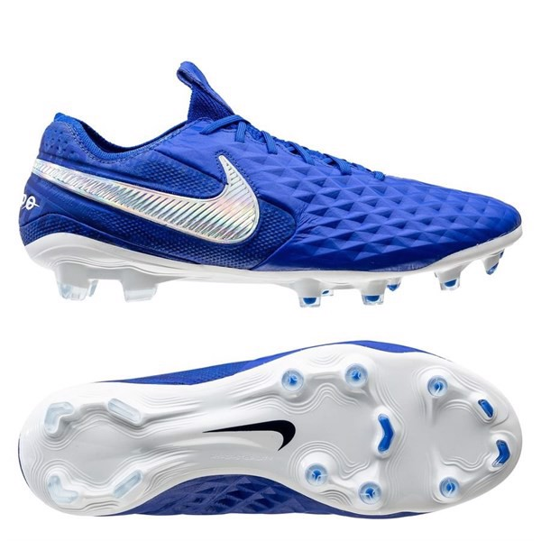Nike Tiempo Legend 8 Elite FG New Lights - Hyper Royal/White