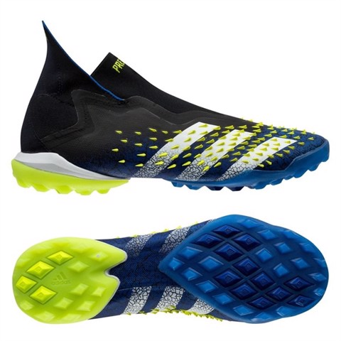 adidas Predator Freak + TF Superlative - Core Black/Footwear White/Solar Yellow