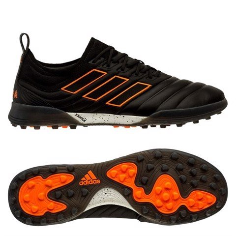 adidas Copa 20.1 TF Precision To Blur - Core Black/Signal Orange/Footwear White