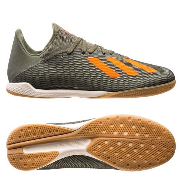 adidas X 19.3 IN Encryption - Legion Green/Solar Orange/Core White