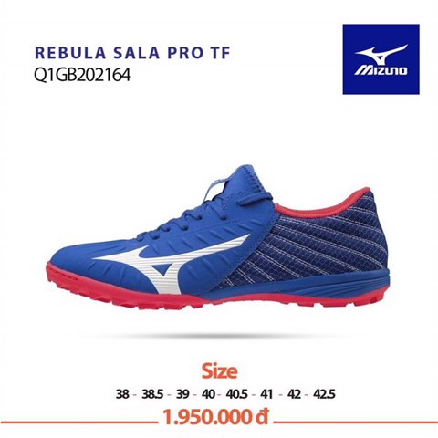 Mizuno Rebula Sala Pro AS TF - Blue/White/Red