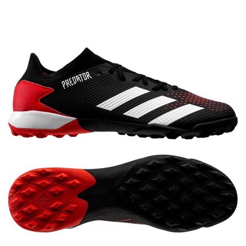 Adidas Predator 20.3 Low TF Mutator - Core Black/Footwear White/Action Red