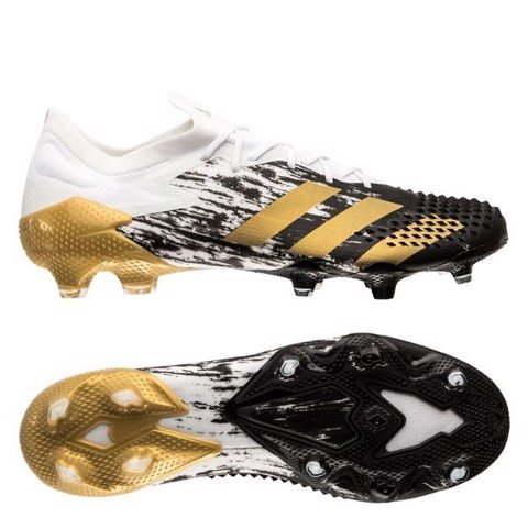 adidas Predator 20.1 Low FG/AG Inflight - Footwear White/Gold Metallic/Core Black