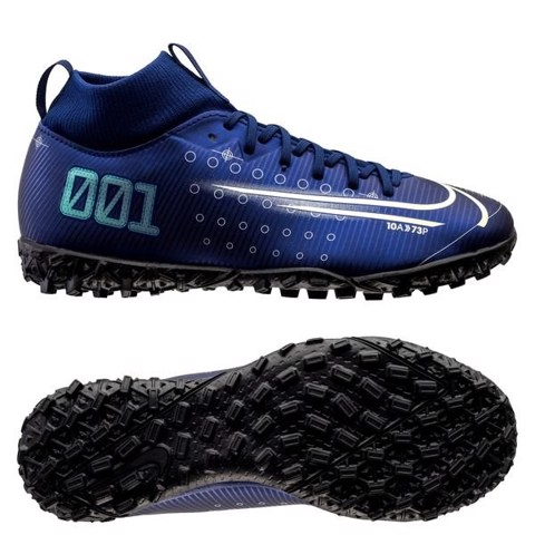 Nike Mercurial Superfly 7 Academy TF Dream Speed - Blue Void/Barely Volt/Black Kids