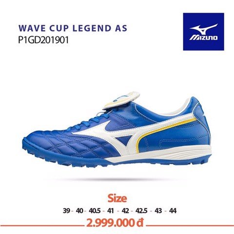 Mizuno Wave Cup Legend AS TF SPECIAL EDITION - Blue/White