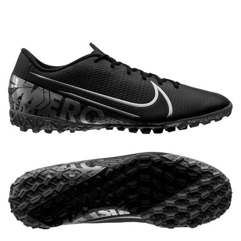 Nike Mercurial VaporX 13 Academy TF Under The Radar - Black/Metallic Cool Grey