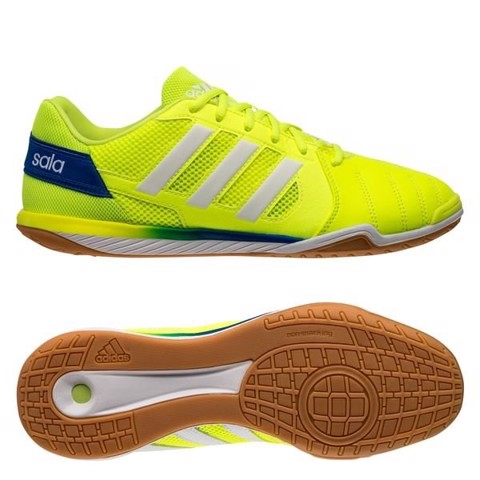 adidas Top Sala IC - Solar Yellow/Footwear White/Glow Blue