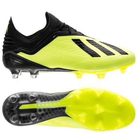 X 18.1 Firm Ground Cleats Solar Yellow / Core Black / Cloud White