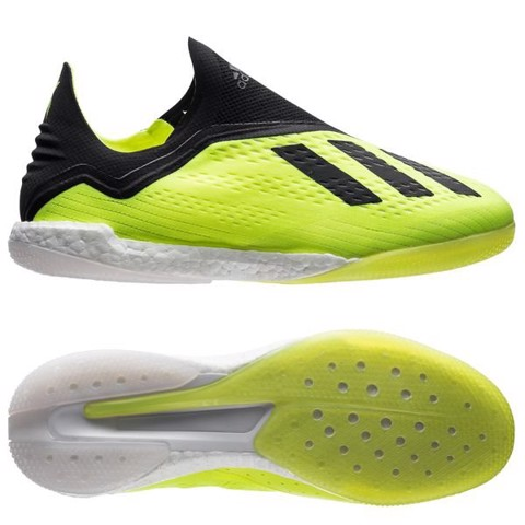 adidas X Tango 18+ IN Boost Team Mode - Solar Yellow/Core Black/Footwear White