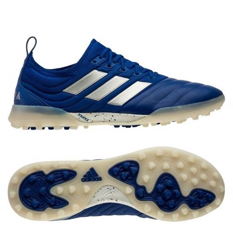 Adidas Copa 20.1 TF Inflight - Royal Blue/Silver Metallic/Core Black