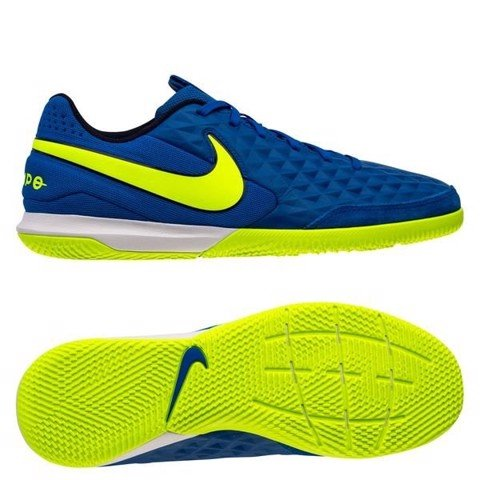 Nike Tiempo Legend 8 Academy IC Skycourt - Racer Blue/Volt