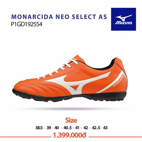Mizuno Monarcida Neo Select AS Orange/White