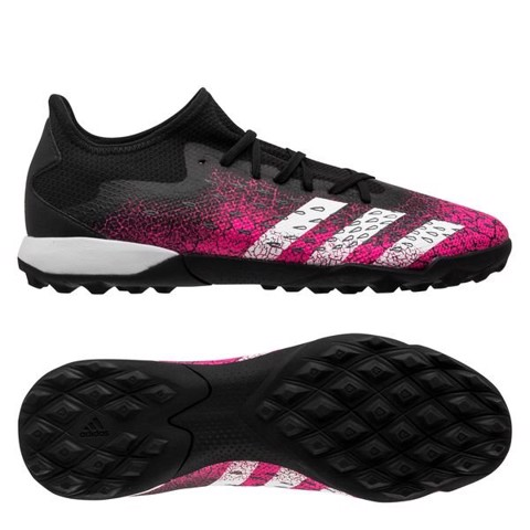 adidas Predator Freak .3 Low TF Superspectral - Core Black/Footwear White/Shock Pink
