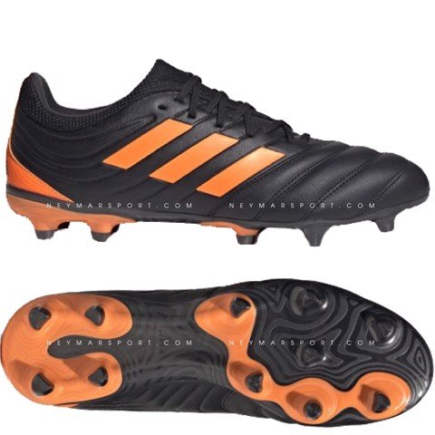 adidas Copa 20.3 FG/AG Precision To Blur - Core Black/Signal Orange/Energy Ink
