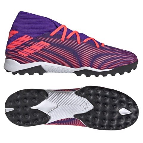 ADIDAS NEMEZIZ 19.3 TF PRECISION TO BLUR - ENERGY INK/SIGNAL PINK/BLACK