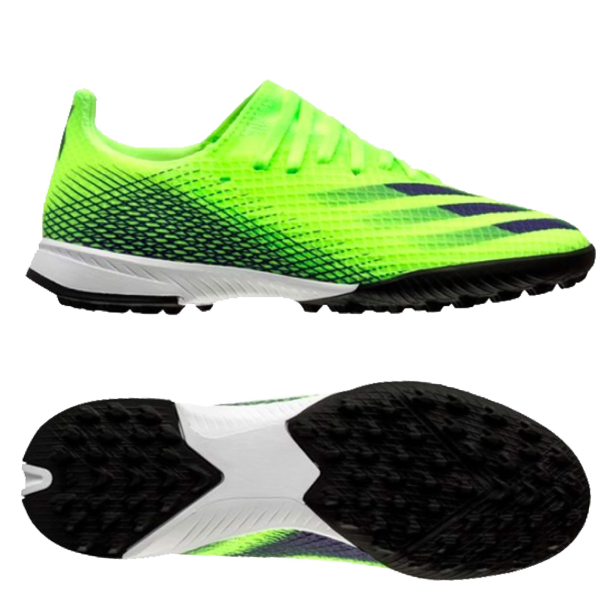 adidas X Ghosted .3 TF Precision To Blur - Signal Green/Energy Ink Kids