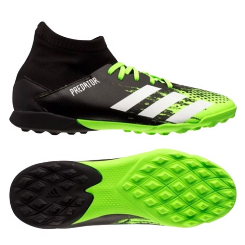 adidas Predator 20.3 TF Precision To Blur - Signal Green/Footwear White/Core Black Kids