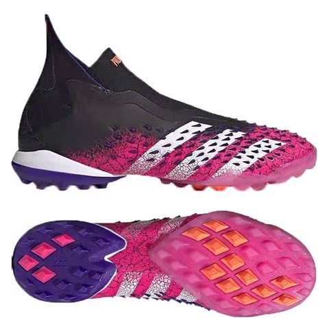 adidas Predator Freak + TF Superspectral - Core Black/Footwear White/Shock Pink