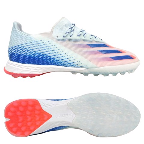 ADIDAS X GHOSTED .1 TF Glory Hunter - Sky Tint/Royal Blue/Signal Coral