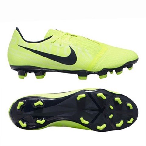 NIKE PHANTOM VENOM ACADEMY FG NEW LIGHTS - VOLT/OBSIDIAN
