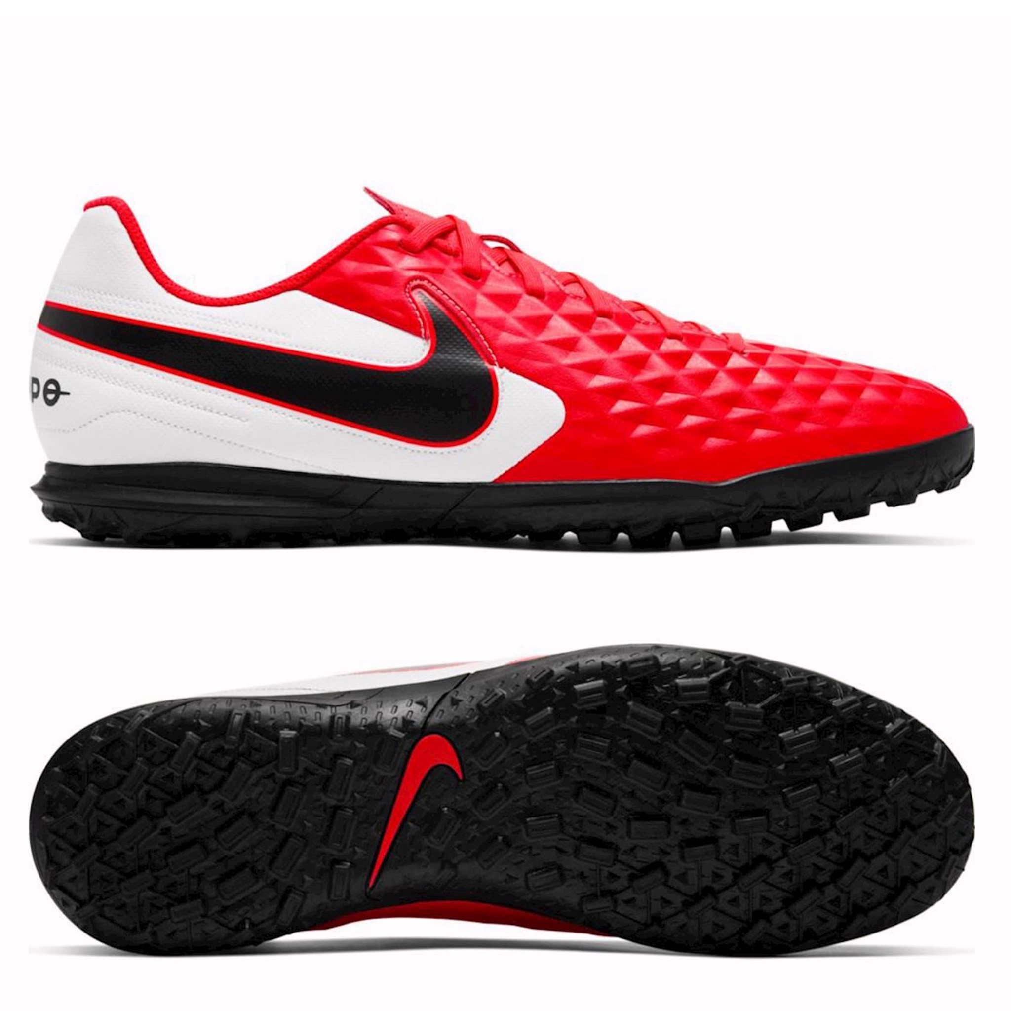Nike Tiempo Legend 8 Club TF FUTURE LAB - Laser Crimson/White/black