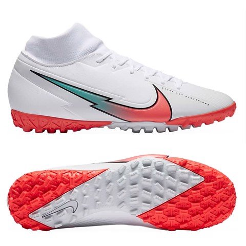 Nike Mercurial Superfly 7 Academy TF The Flash Crimson - White/Flash Crimson/Photon Dust