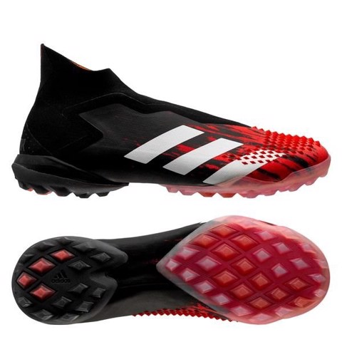 adidas Predator 20+ TF Mutator - Core Black/Footwear White/Action Red