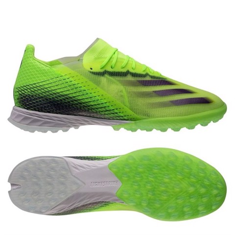 adidas X Ghosted .1 TF Precision To Blur - Signal Green/Energy Ink/Semi Solar Slime