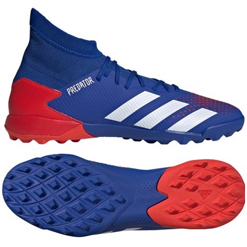 ADIDAS PREDATOR 20.3 TF TORMENTOR - ROYAL BLUE/WHITE/RED
