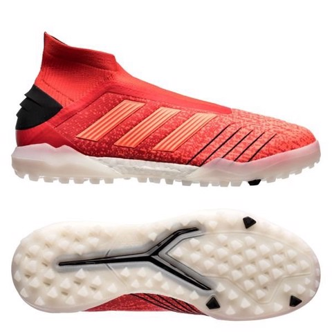 adidas Predator Tango 19+ TF Boost Initiator - Action Red/Core Black