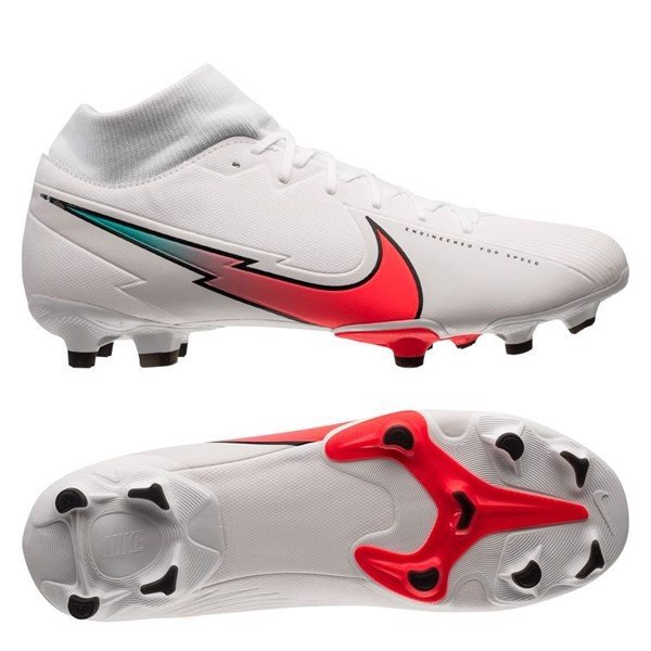 Nike Mercurial Superfly 7 Academy MG Flash Crimson - White/Flash Crimson