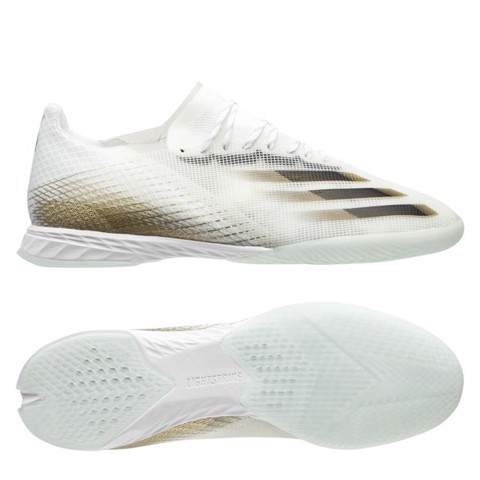 adidas X Ghosted .1 IN Inflight - Footwear White/Core Black/Metallic Gold