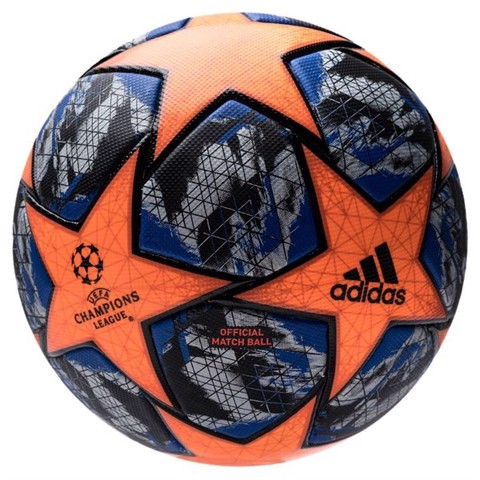 Adidas Football Champions League 2020 Final Match Ball Woman - Solar Orange/Football Blue/Black