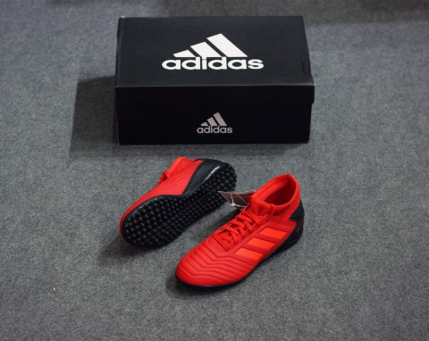 adidas Predator Tango 19.3 TF Initiator - Action Red/Core Black Kids