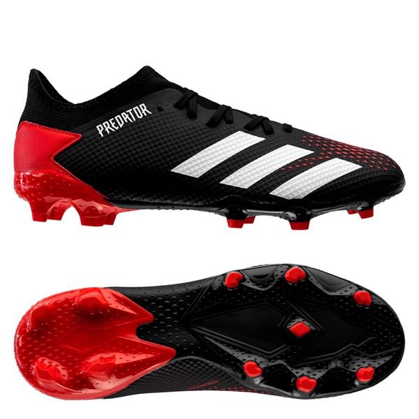 adidas Predator 20.3 Low FG/AG Mutator - Core Black/Footwear White/Action Red