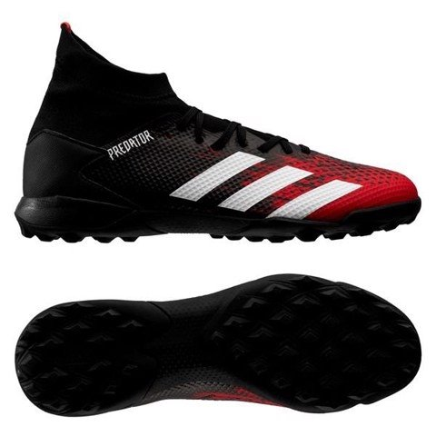 adidas Predator 20.3 TF Mutator - Core Black/Footwear White/Action Red
