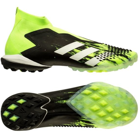 adidas Predator 20+ TF Precision To Blur - Signal Green/Footwear White/Core Black
