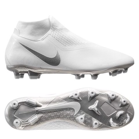 Nike Phantom Vision Academy DF MG Nuovo - White/Chrome/Metallic Silver