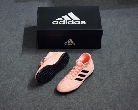 ADIDAS PREDATOR 18.3 TF SPECTRAL MODE - TRACE PINK KIDS