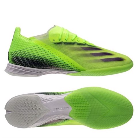 adidas X Ghosted .1 IN Precision To Blur - Signal Green/Energy Ink/Semi Solar Slime