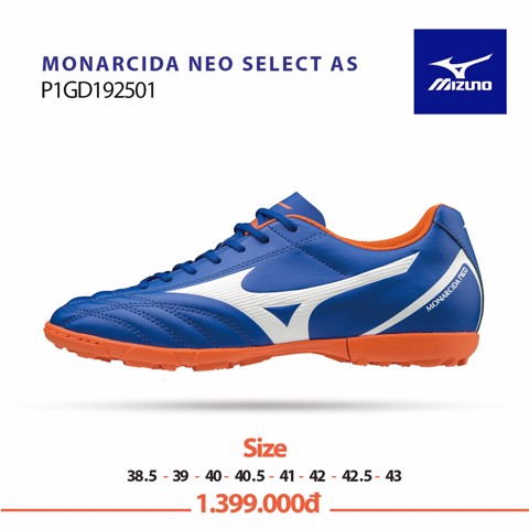 MIZUNO MONARCIDA NEO SELECT AS BLUE/WHITE