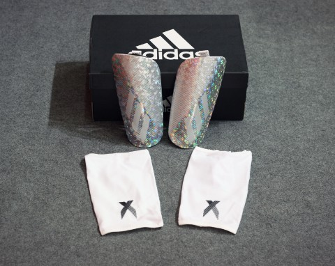adidas X Pro Shin Guards - White
