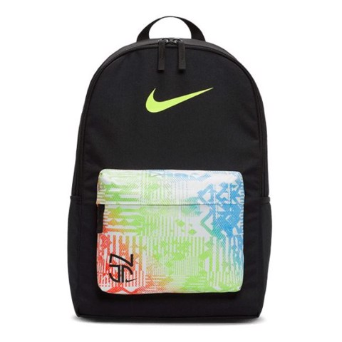 NIKE NEYMAR JR BACKPACK - BLACK/BLACK/VOLT