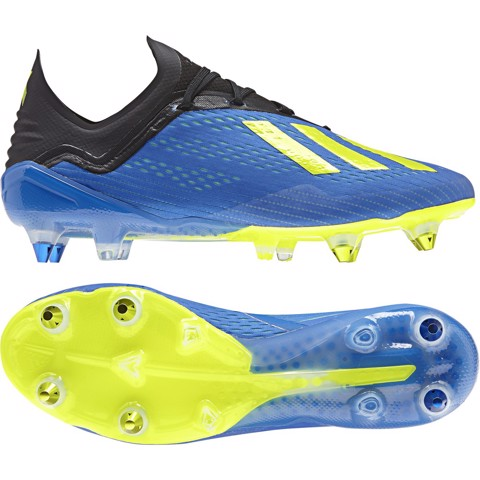 ADIDAS X 18.1 SG ENERGY MODE - FOOTBALL BLUE/ SOLAR YELLOW/ CORE BLACK