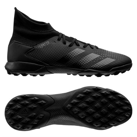 adidas Predator 20.3 TF Dark Motion - Core Black/Solid Grey