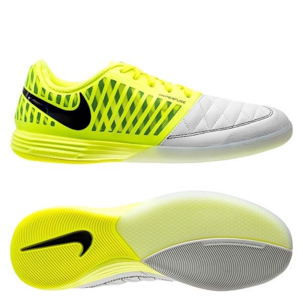 Nike Lunargato II IC - Lemon Venom/Black/White