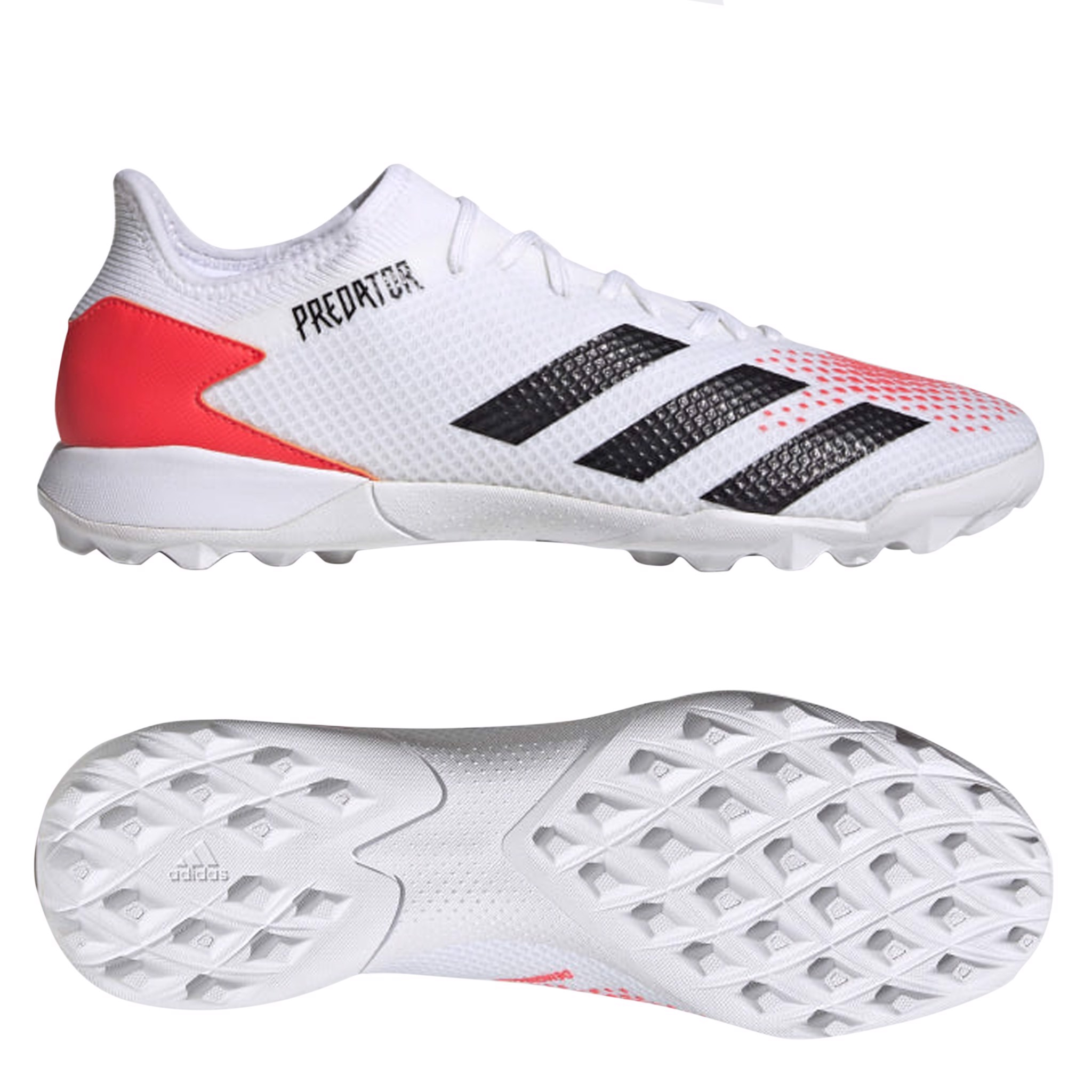 adidas Predator 20.3 Low TF Uniforia - Footwear White/Core Black/Pop