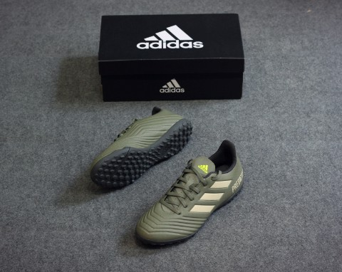 adidas Predator 19.4 TF Encryption - Legion Green/Sand/Solar Yellow