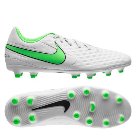 Nike Tiempo Legend 8 Club MG Spectrum - Platinum Tint/Rage Green