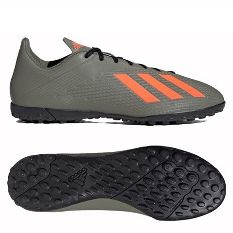 adidas X 19.4 TF Encryption - Legion Green/Solar Orange/Core White